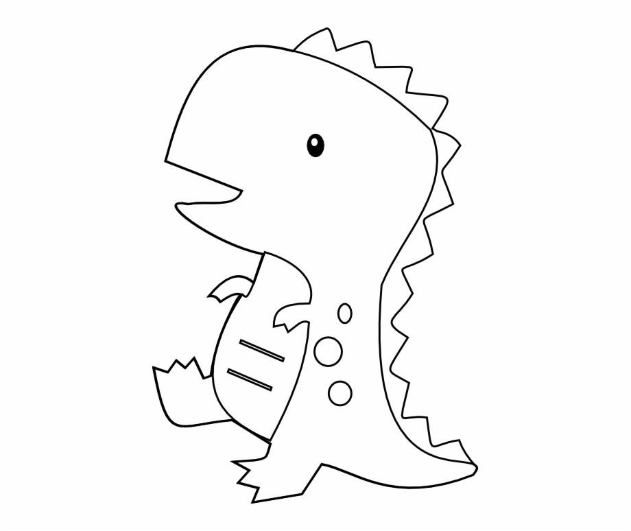 Clipart dinosaur stencil.