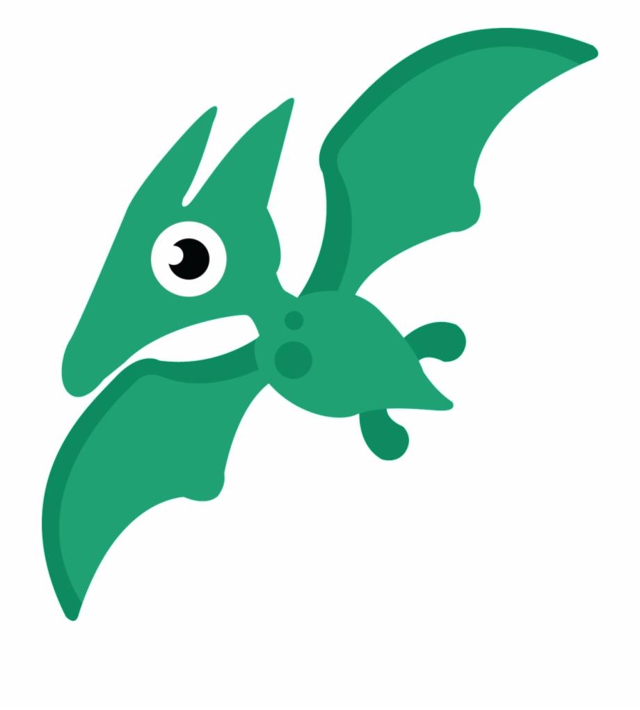 Cute flying dragon.
