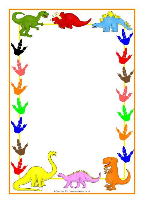 Cartoon Dinosaur A