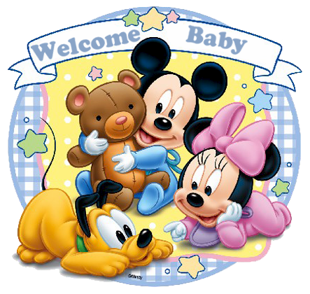 Disney baby welcome.