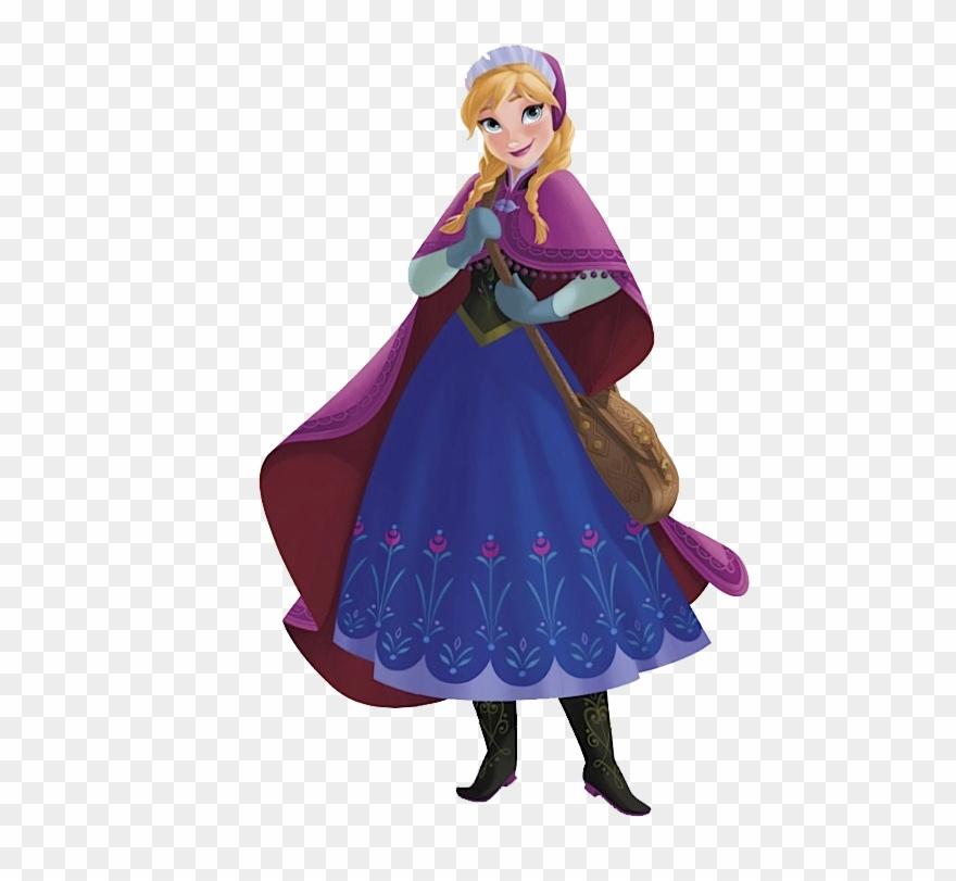 Frozen anna clipart.