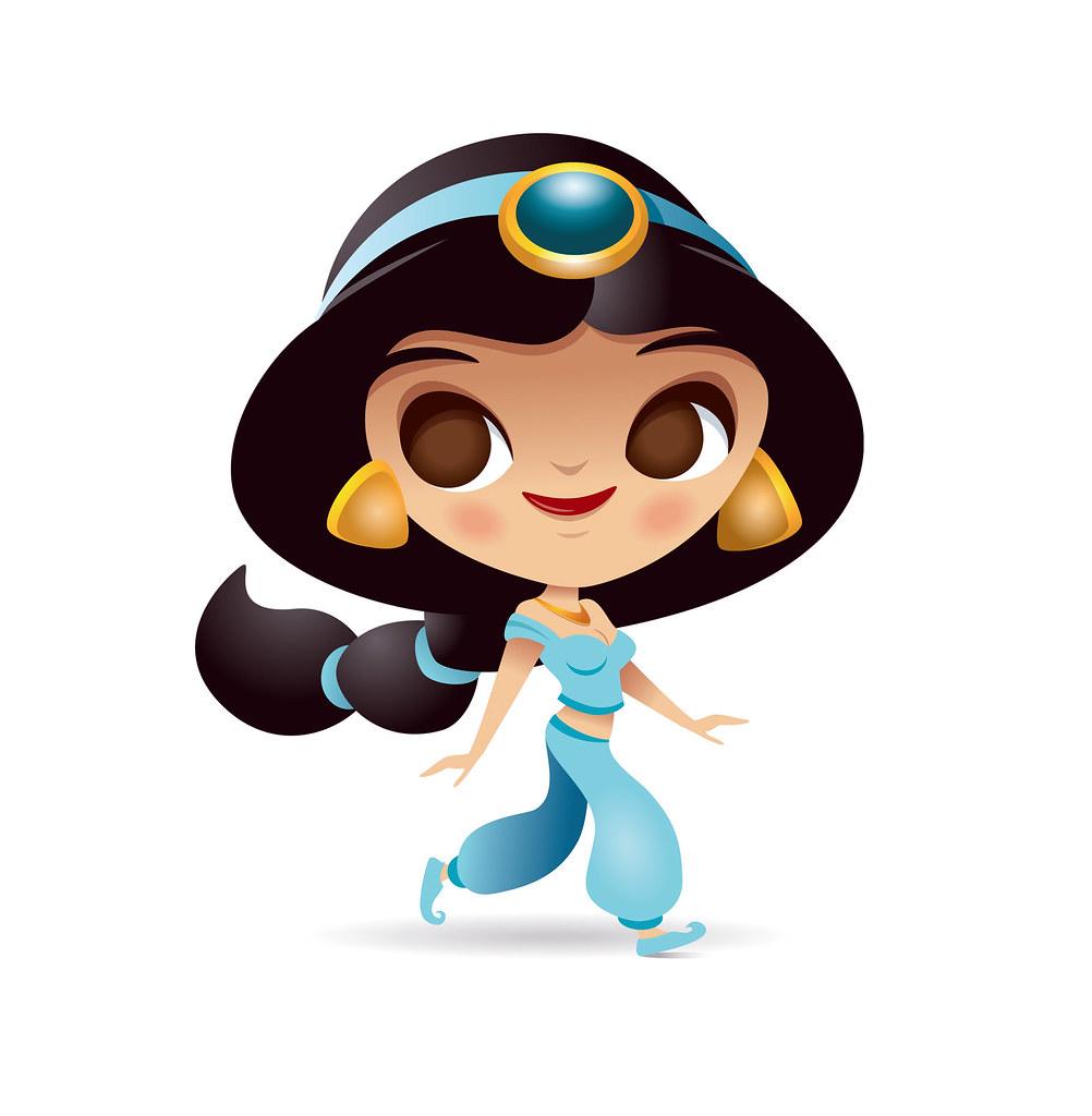 Kawaii disney princess.