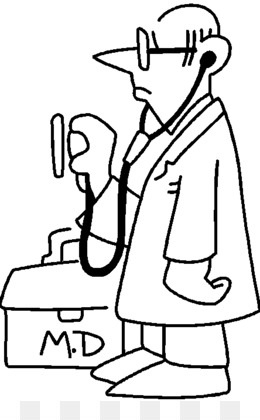Free Download Physician Black And White Clip Art