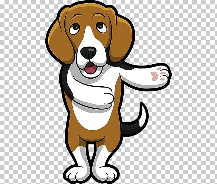Beagle dog breed.