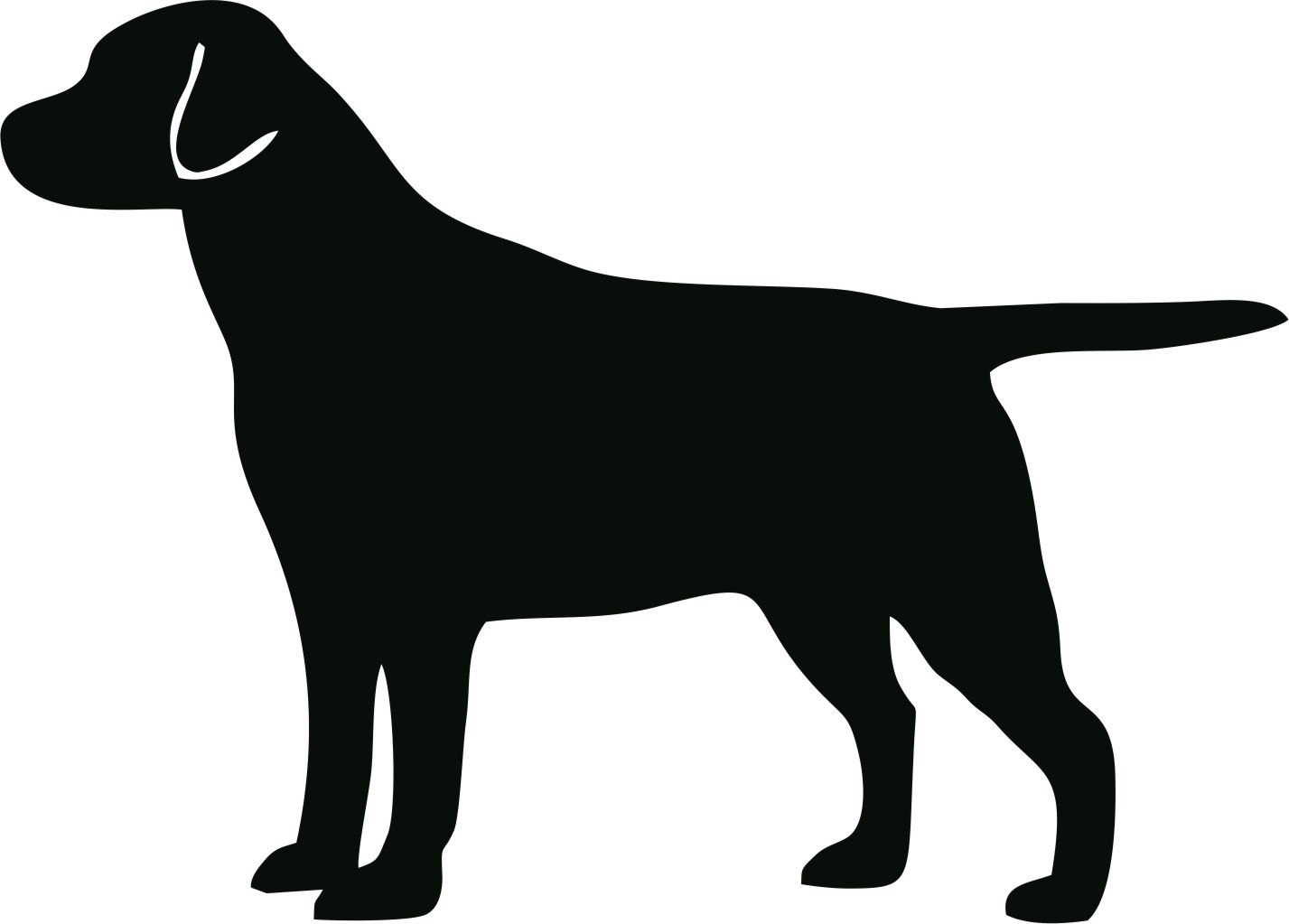 Lab dog clipart