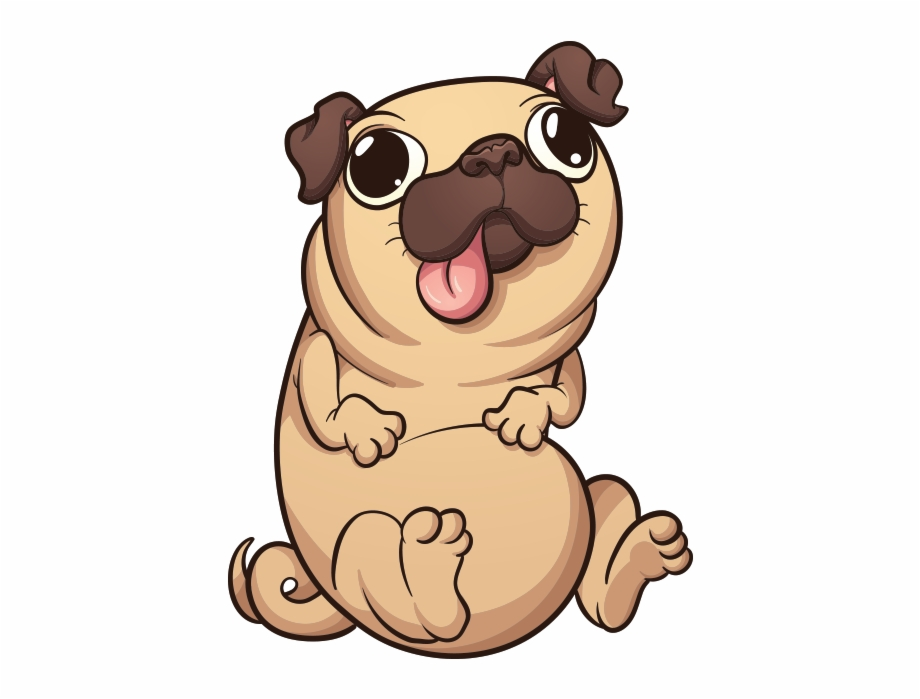 Clipart Dog Pug