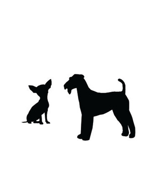 Small Big Dog Clipart