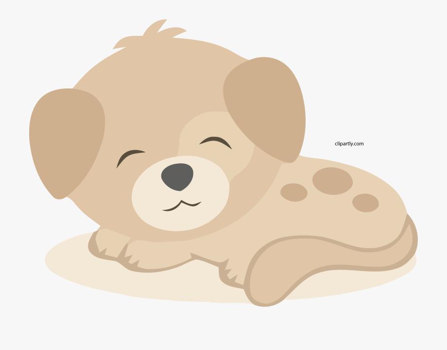 Peachpuff Cute Small Dog Clipart Png