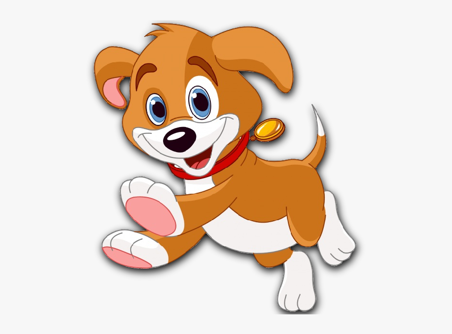 Moving clipart puppy.