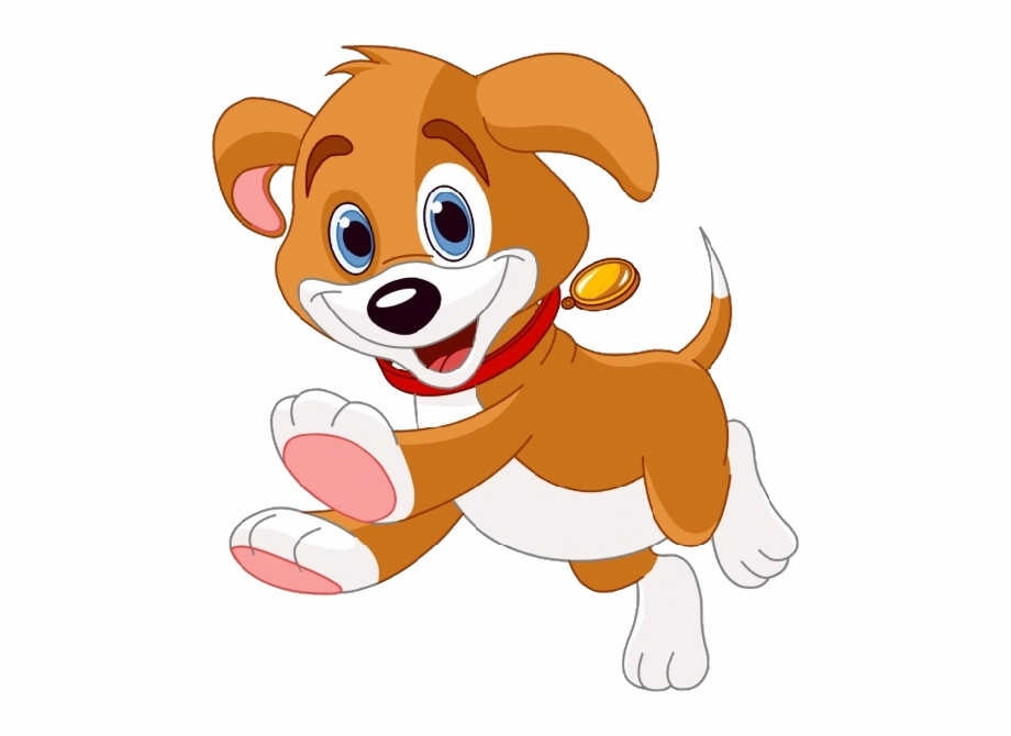 Vector Puppy Clipart Image