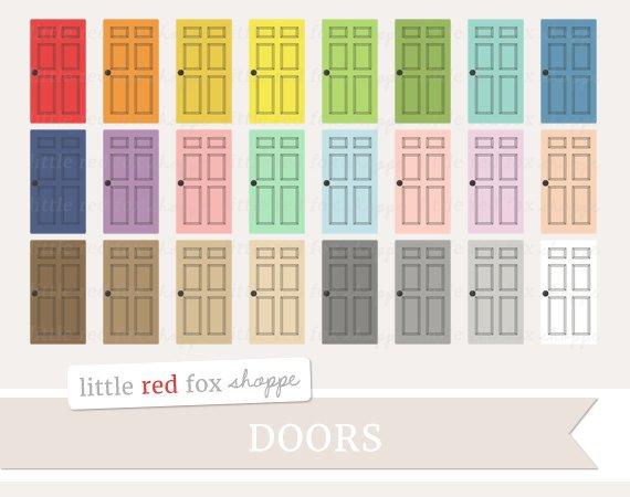 Door clipart house.