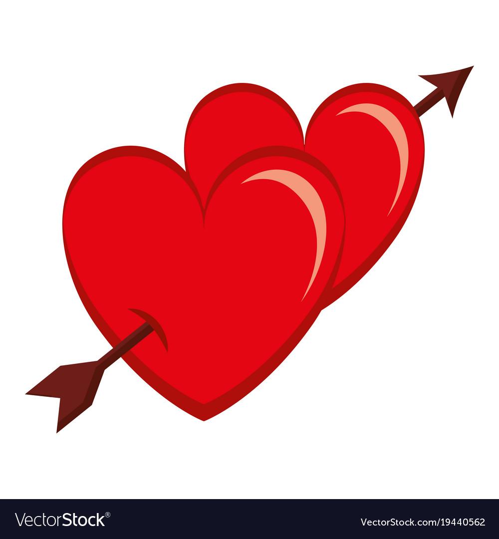 Double heart clipart arrow pictures on Cliparts Pub 2020! 🔝 (1000 x 1080 Pixel)