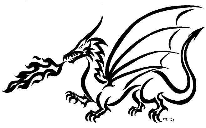 Images dragon drawings.