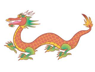 Chinese Dragon Clip Art to Download