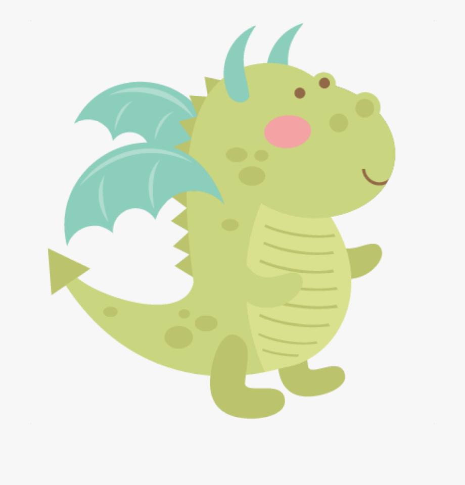 Dragon clipart cute.