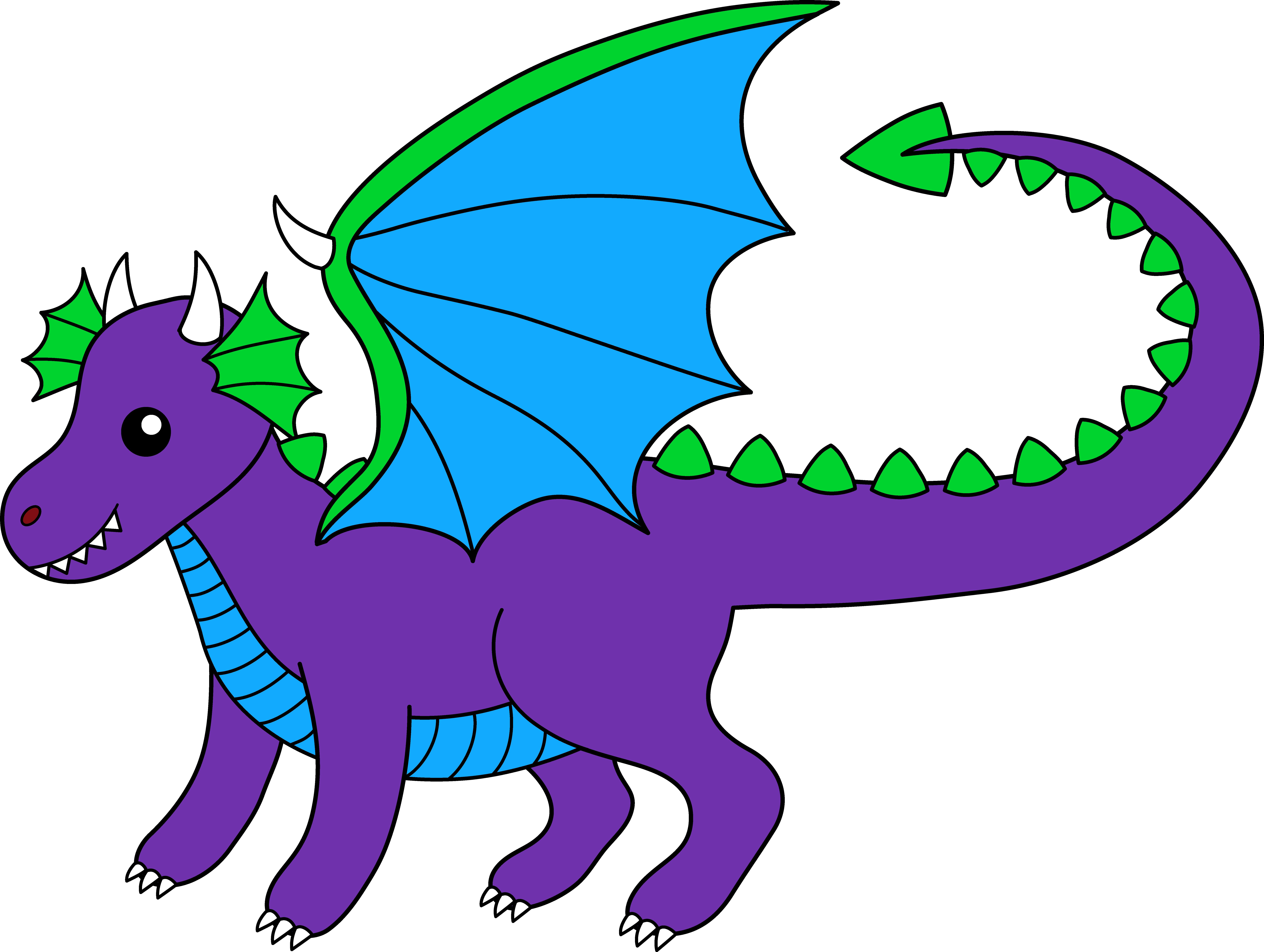 Free cute dragon.