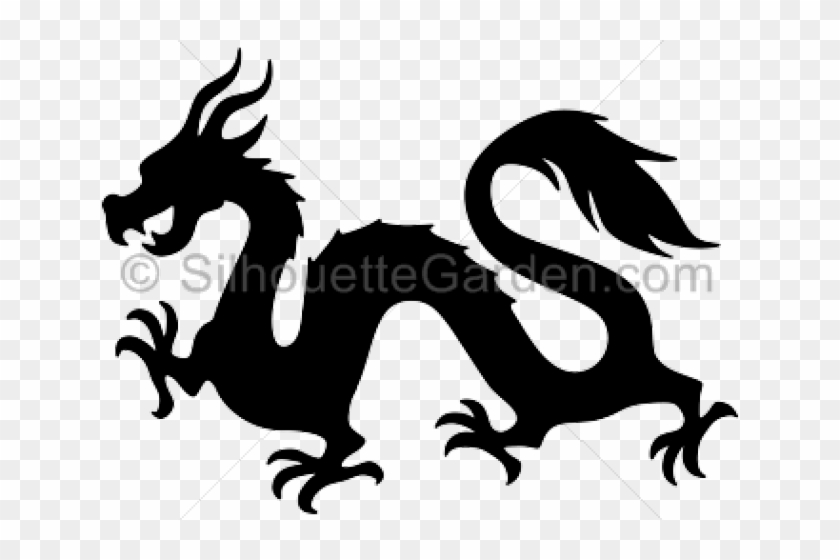 Simple chinese dragon.