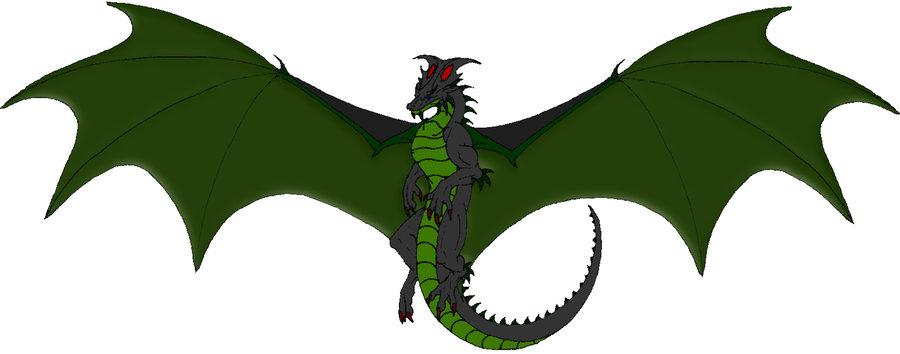 Free flying dragon.