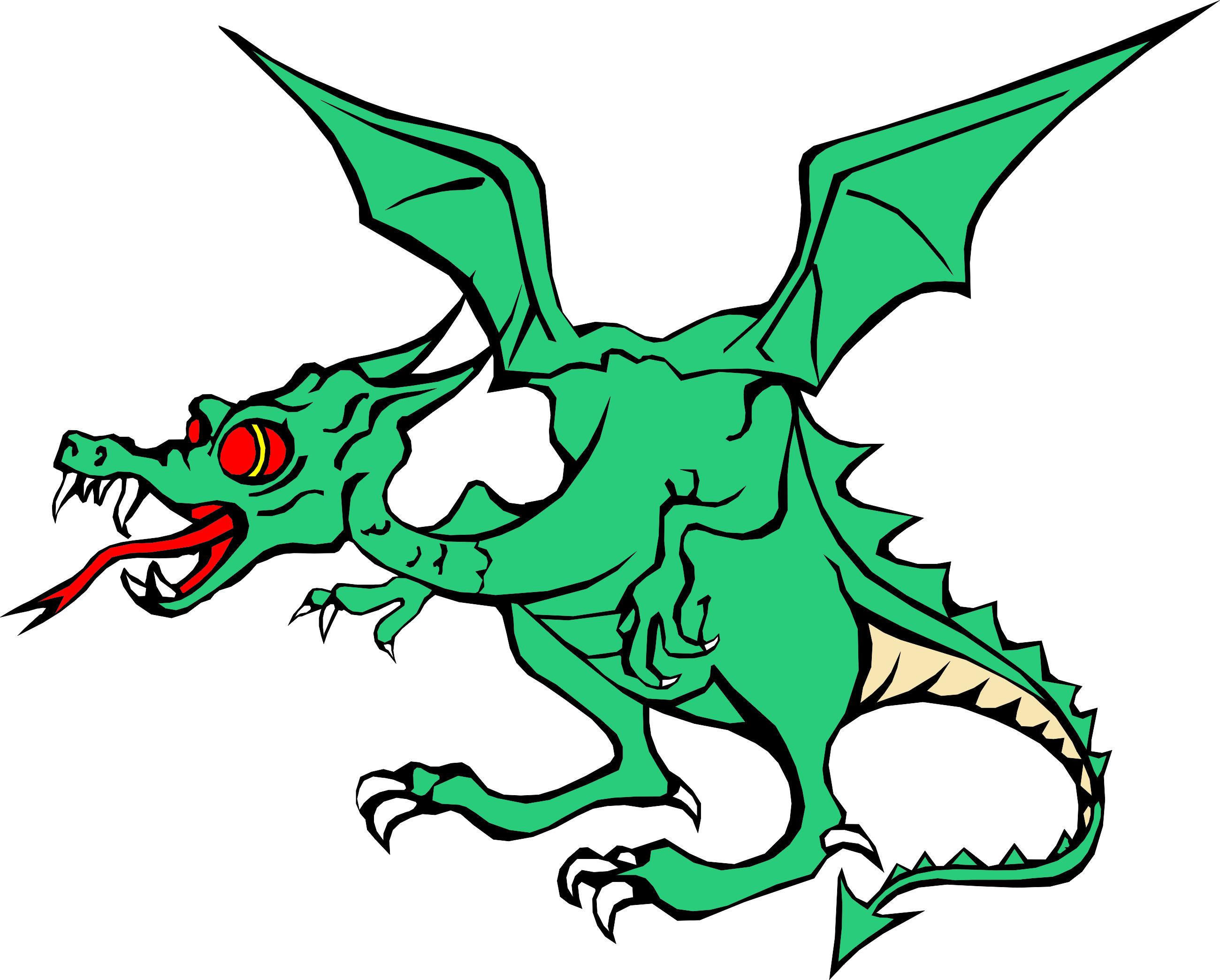 Free cartoon dragons.
