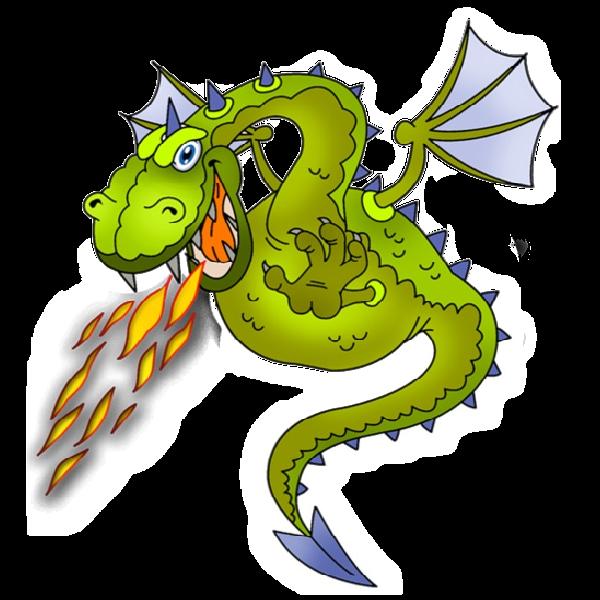 Dragon clipart free.