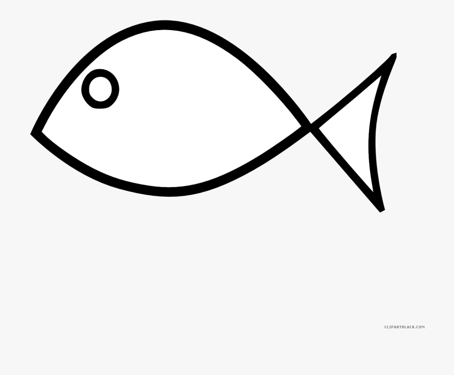 Fish outline fish.