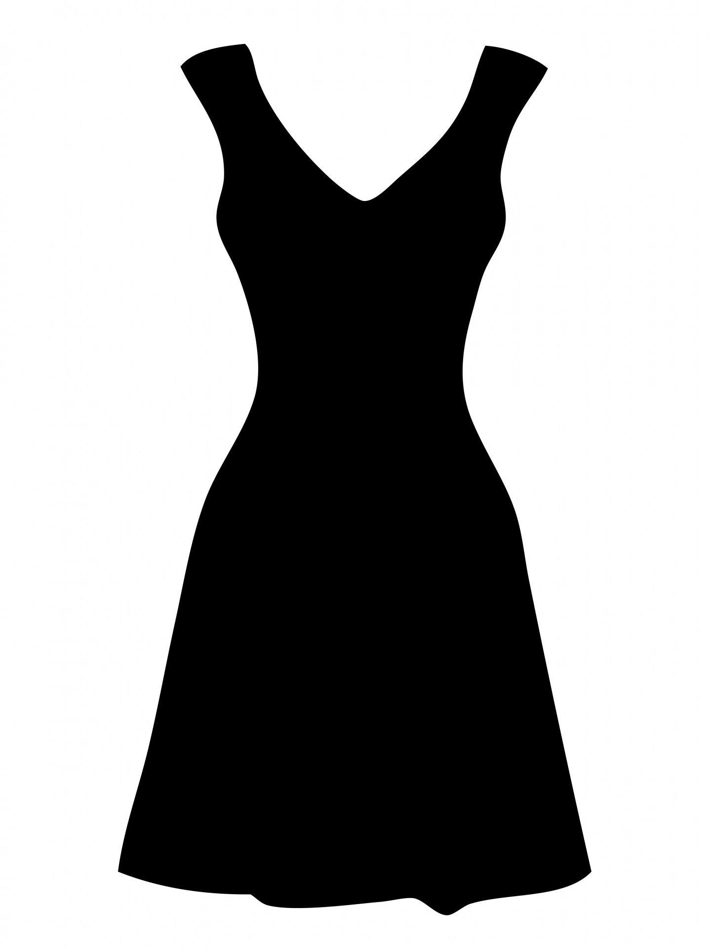 Free clipart dresses.