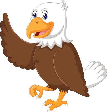 Adler Zeichentrick