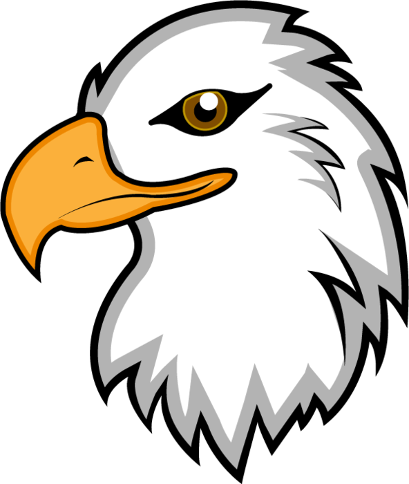 Eagles clipart easy.