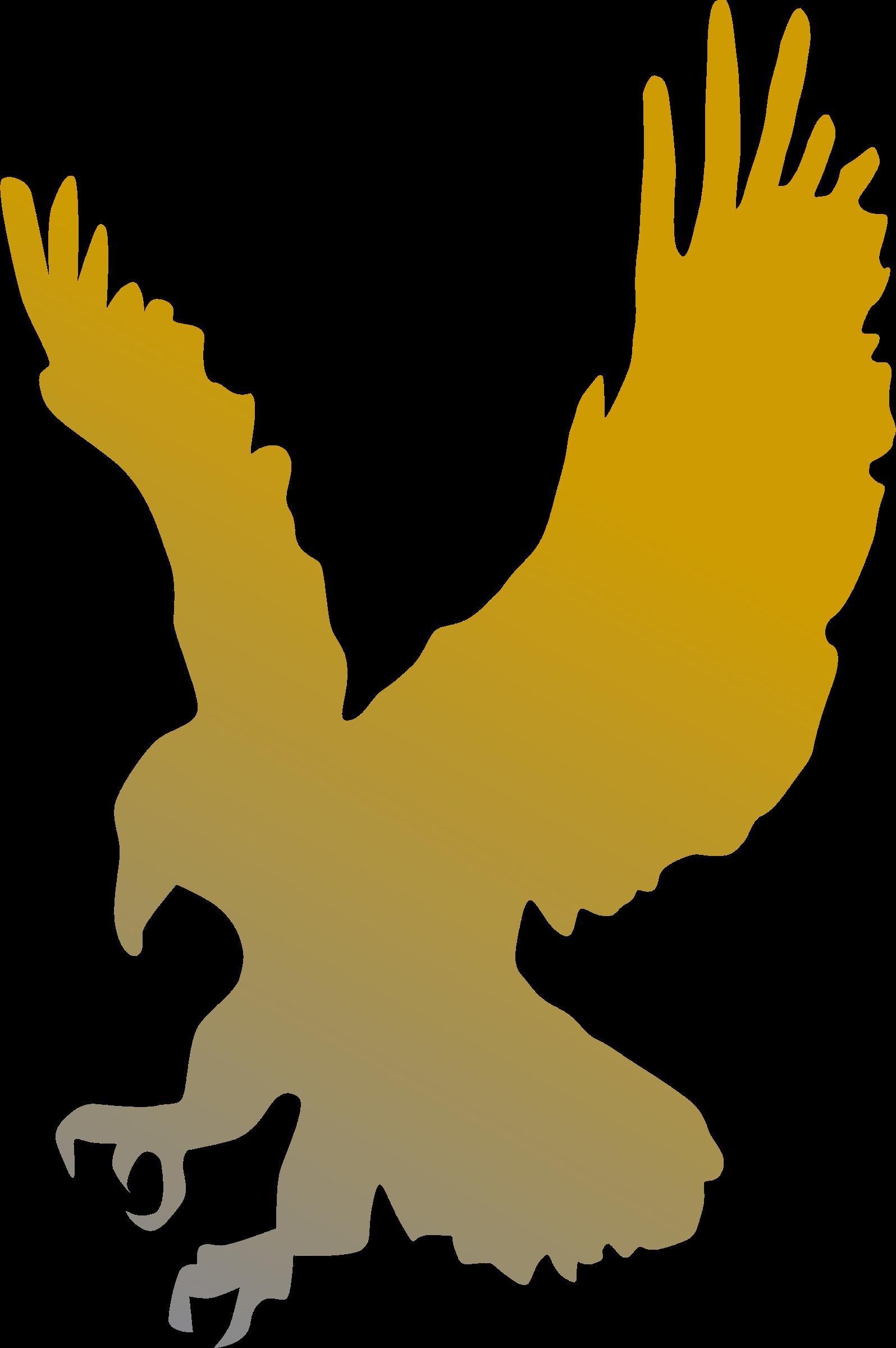 Golden eagle vector.