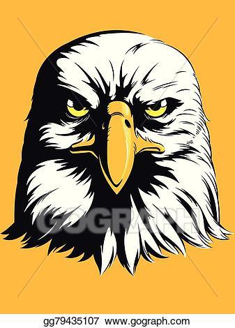 Vector illustration eagle.