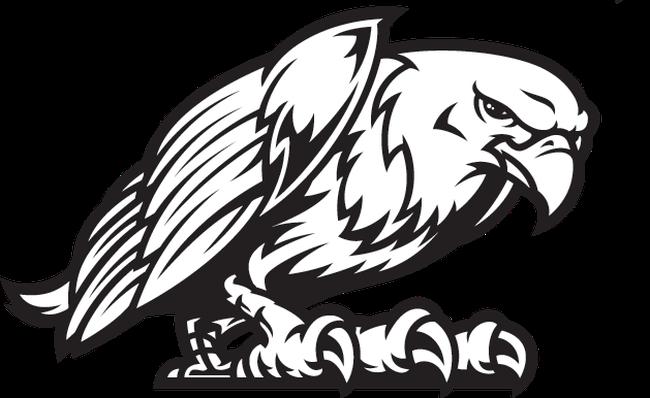 Eagle mascot fight.