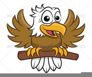 Bald eagle mascot.