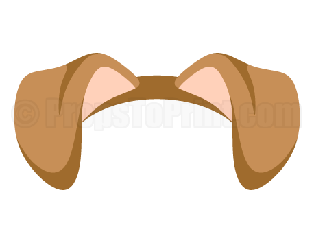 Animal ears clipart.