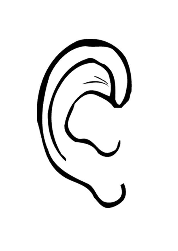 Free printable ears.