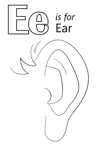 Letter for ear.