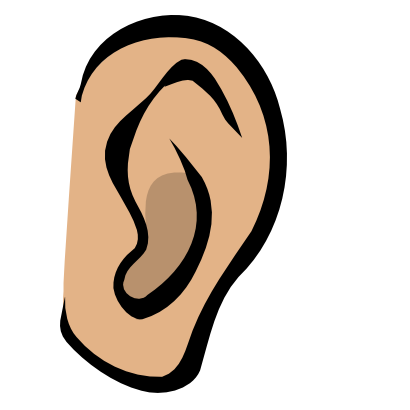 Free ears clipart.