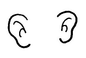 Ears listening clipart.