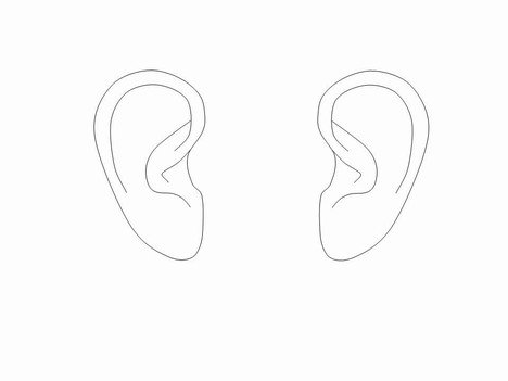 Free ear cliparts.