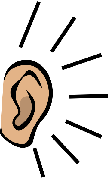 Ears transparent png.