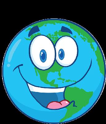 Happy earth under.