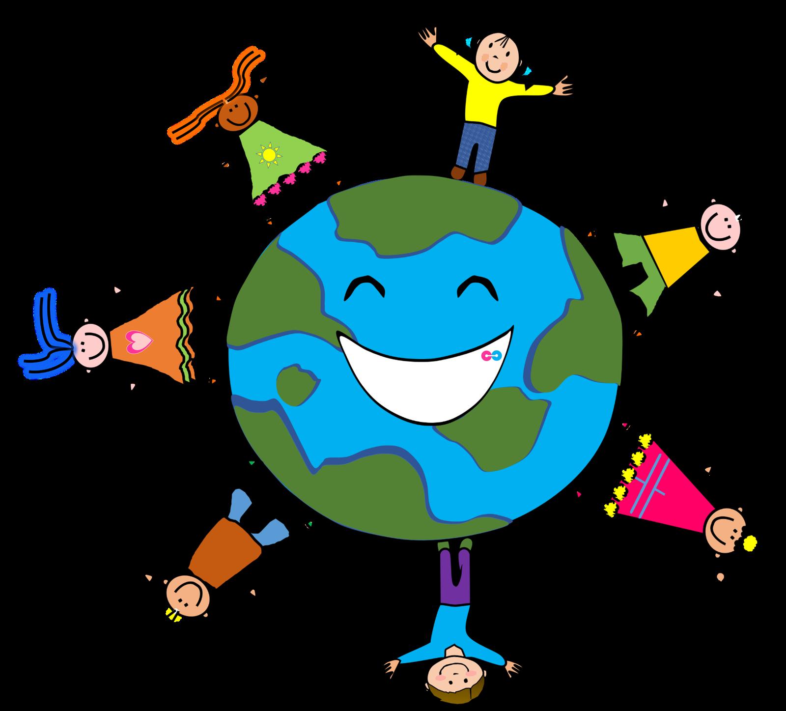 earth clipart kids