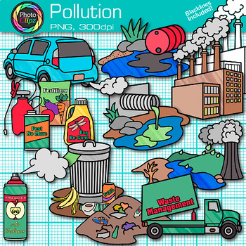 Pollution clip art.