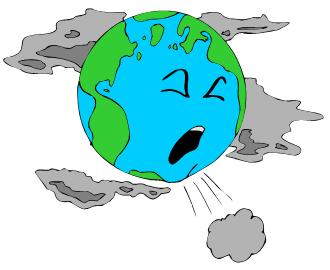 earth clipart polluted