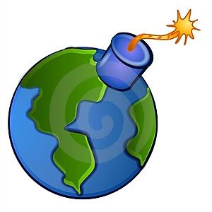 earth clipart sad