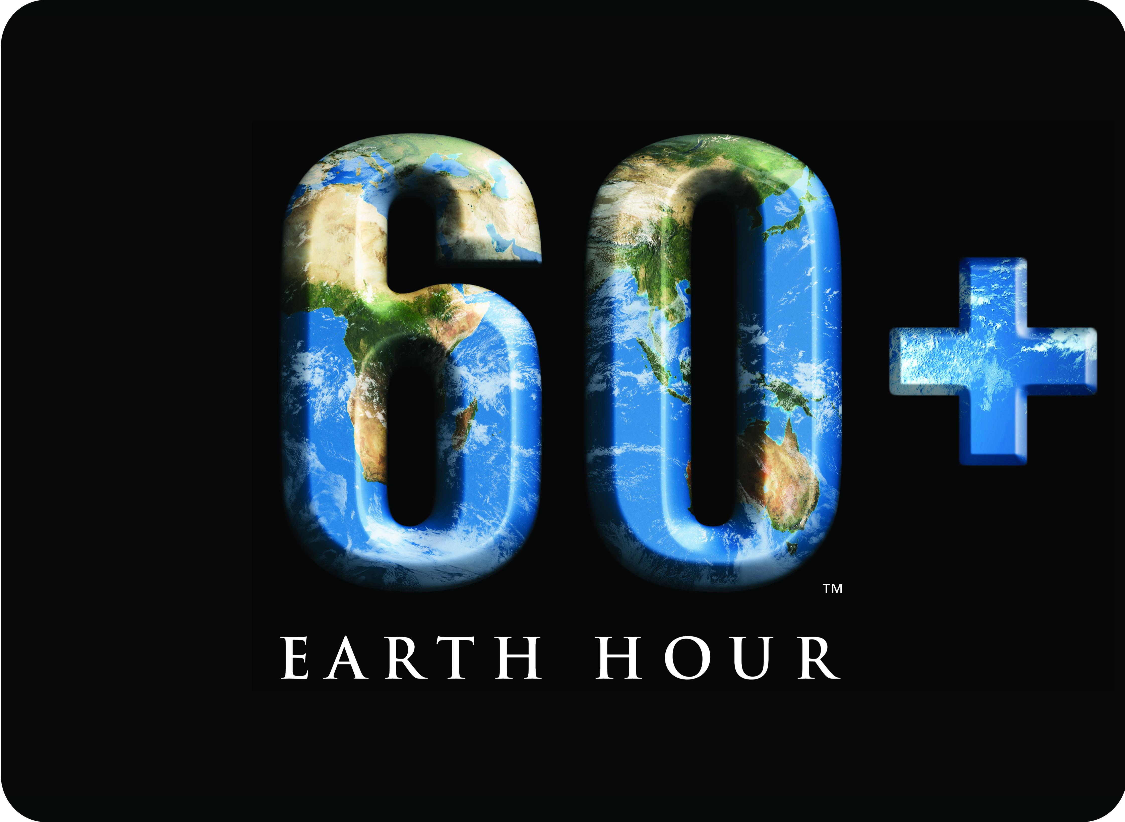 Earth hour logo.