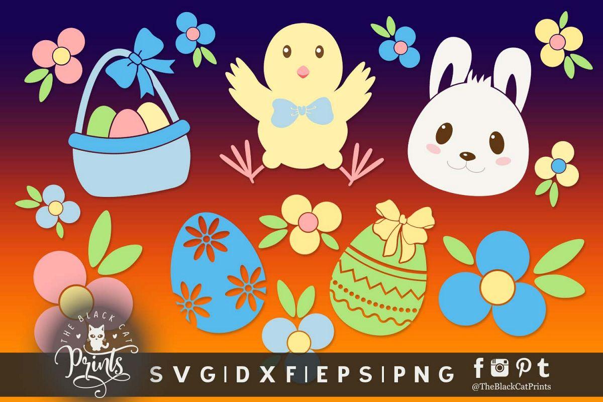 Easter clipart svg.