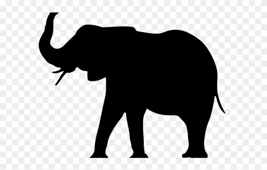 Asian elephant clipart.