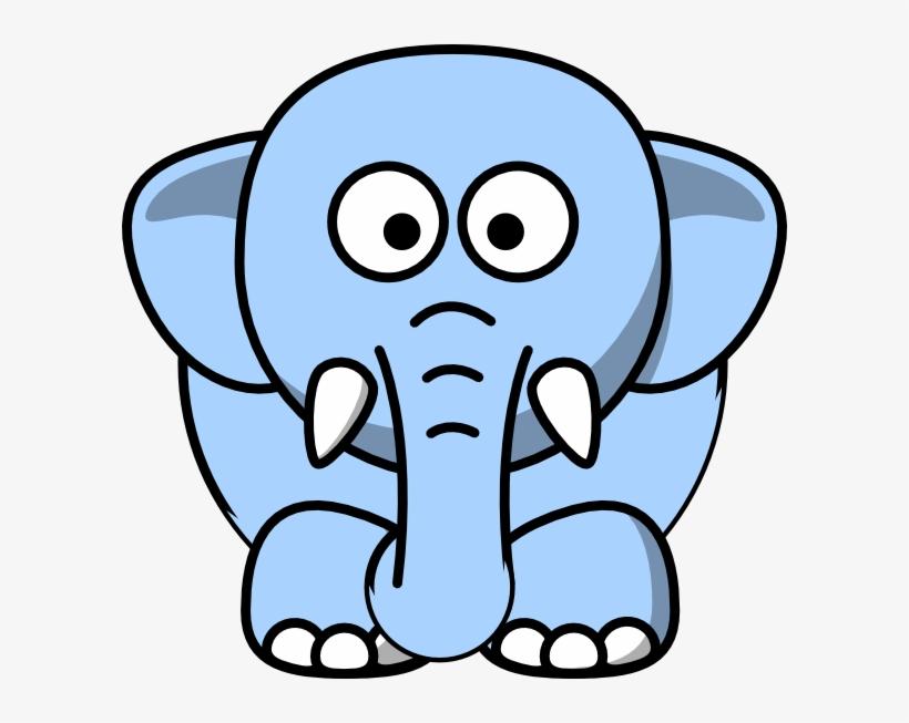 Baby elephant clipart.