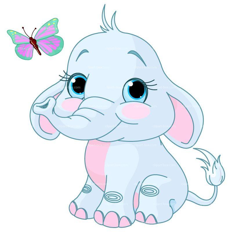 Displaying baby elephant.