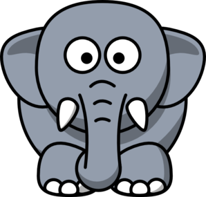 Free gray elephant.
